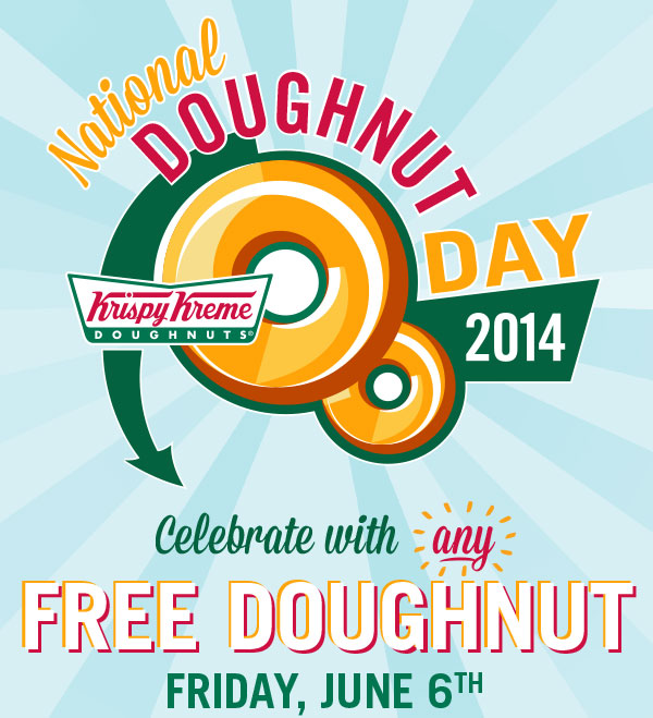 Join us for #NationalDoughnutDay2014 to get your free doughnut